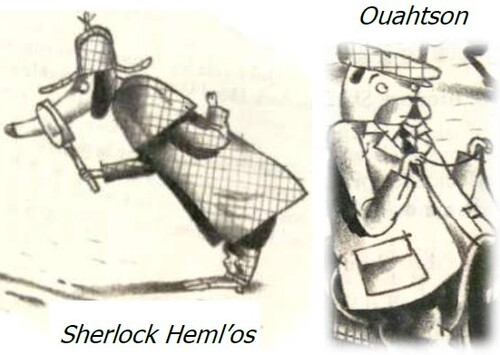 Lecture policière : Sherlock Heml'Os
