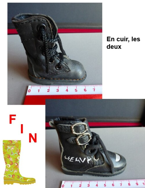Ma collection de mini-chaussures !!!