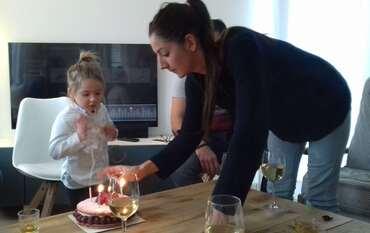 Louina et Manon anniversaires 2018 et 2019