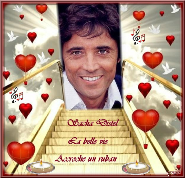 """Sacha Distel """"La belle vie"""" & """"Accroche un ruban"""""""