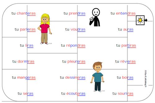 Puzzle de conjugaison