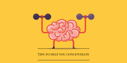 Steps to help you get better concentration