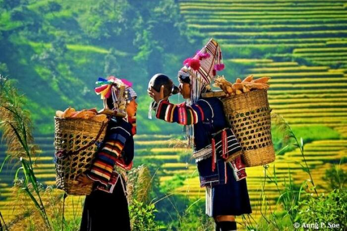 La Birmanie...