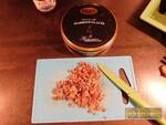 Bûche mousse poire & marrons glacés