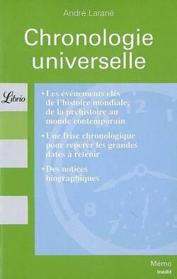 Chronologie universelle - André Larané
