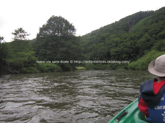 Balade en canoé kayac