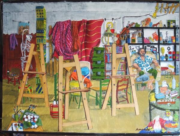 Dimanche - Une scène d'atelier particulière (suite et fin)