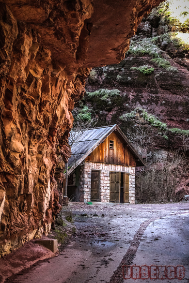 La cabane des gorges