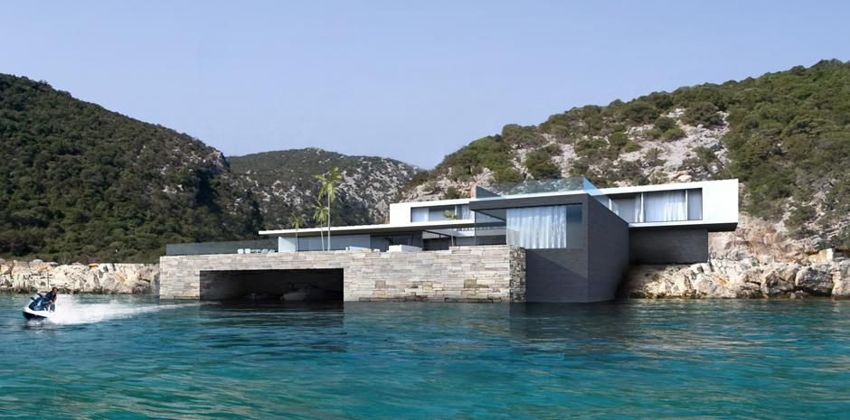 Modern House in Côte d\'Azur - Maison contemporaine