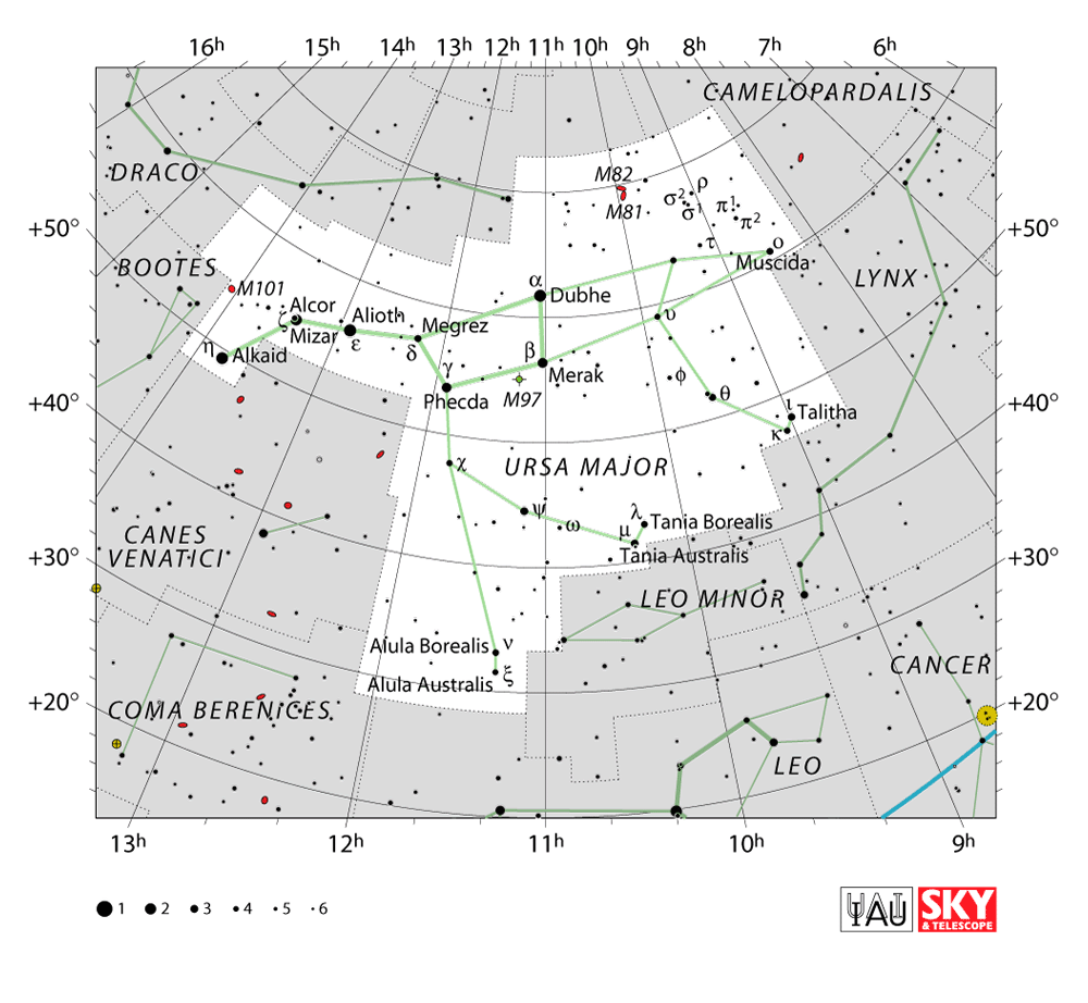 ursa major map
