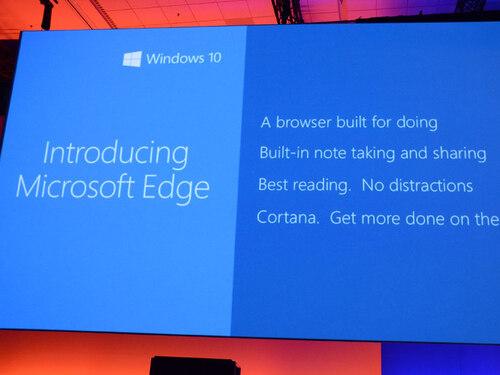 Le projet Spartan devient Microsoft Edge