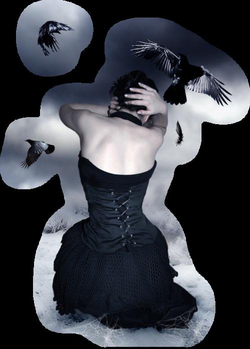 Tubes femmes Gothique