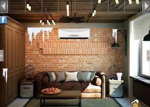 Jouer à Modern brick house escape