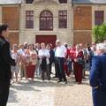 Juin 2005 : en viite avec nos hôtes allemands