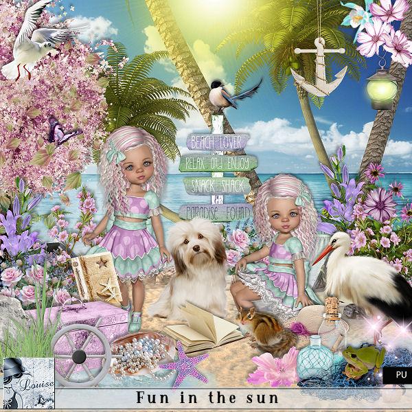 Fun in the sun Louis537