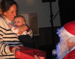 La magie de Noël s'est invitée à la salle des fêtes