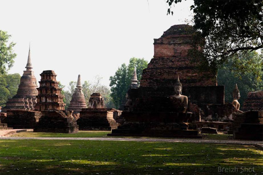 Wat Mahathat Sukhothaï