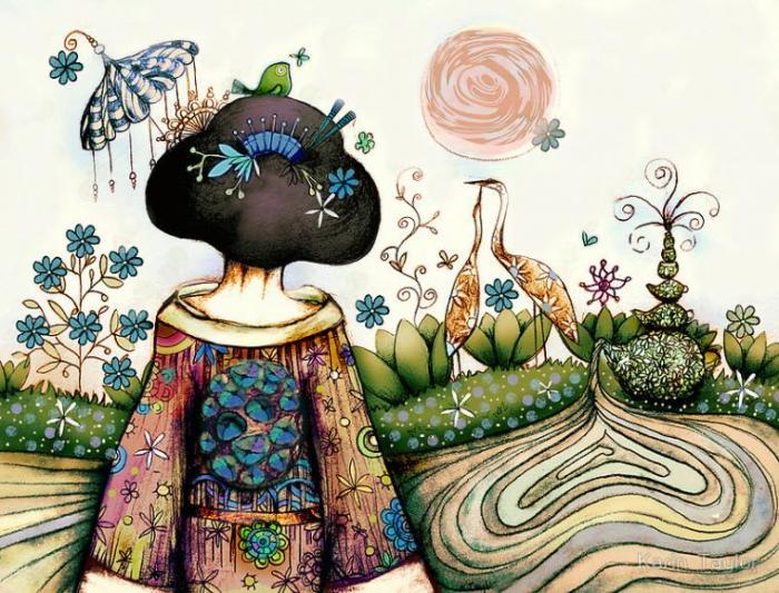Japonais  Auteur: Karin Taylor.