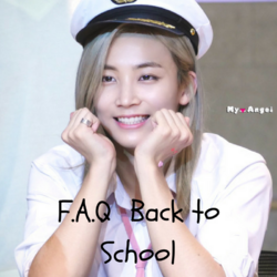 [Back to school] F.A.Q