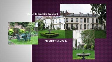 """Jardin des """"Poulies"""" sur les remparts de Montfort"""