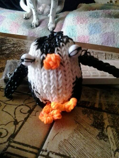 pingouin en 3D