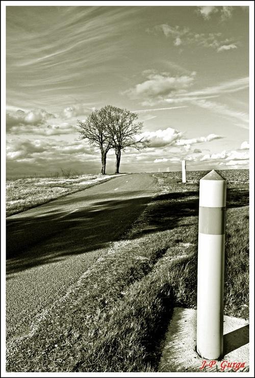 Paysages Châtillonnais en noir et blanc, par Jean-Pierre Gurga