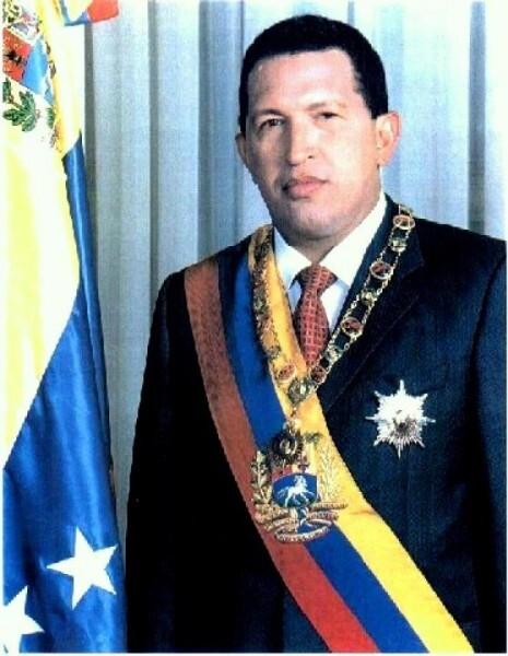 Première photo officielle du Président Hugo Chávez
