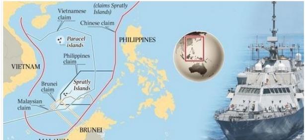 Après la Syrie, un 2e front brûlant : La Mer de Chine