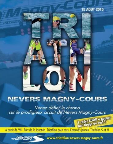 Triathlon Nevers 15 Août 2015
