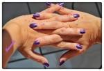 Dimanche en violet