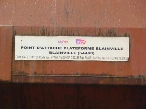 Matériels Infra en gare de Charmes