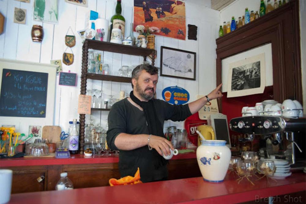 bar à l'ancienne à Callac