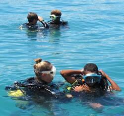 Baptêmes de plongée pour Les Villages de Magenta - Cliquer pour agrandir