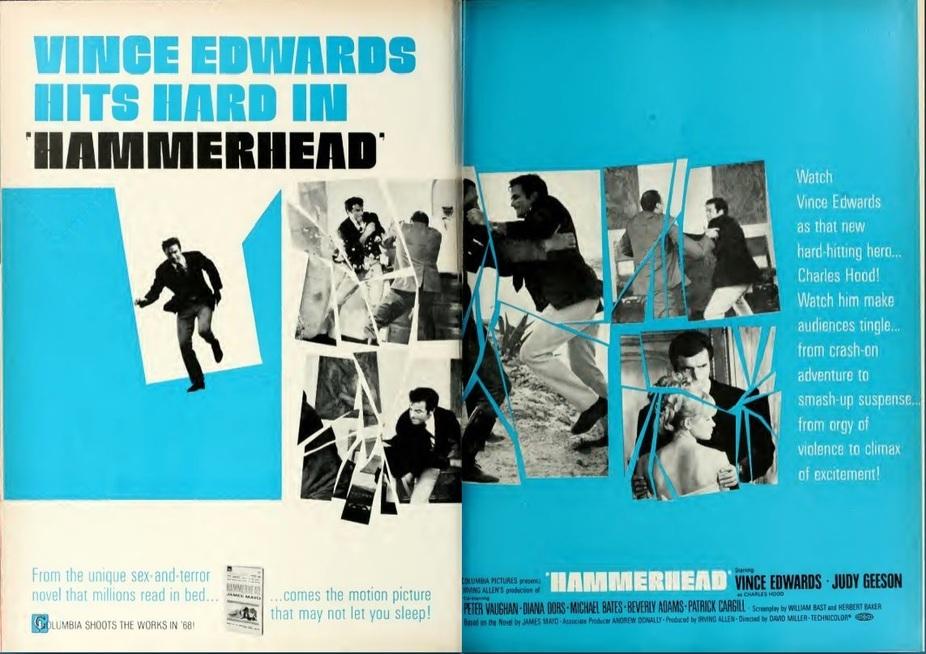 HAMMERDEAD BOX OFFICE USA 1968
