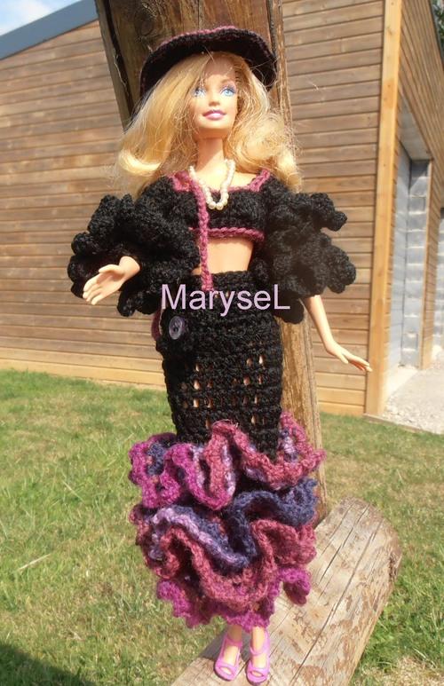 """Galerie des robes Barbie """"Caméléon"""""""