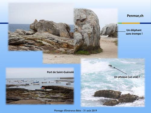 La Pointe de La Torche, Penmar'ch, Saint-Guénolé