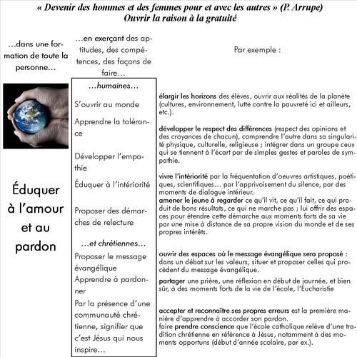 Projet éducatif jésuite