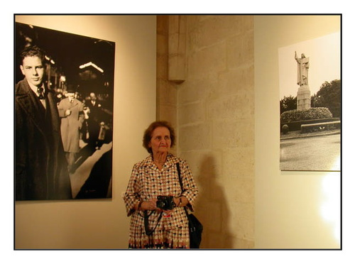 """Yvette Troispoux, la """"photocopine"""" de Doisneau."""