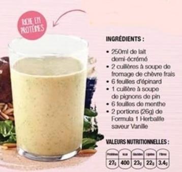 plaisir veggie et shake surprise