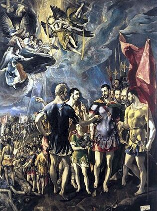 Fichier:El Greco-The Martyrdom of St Maurice.jpg