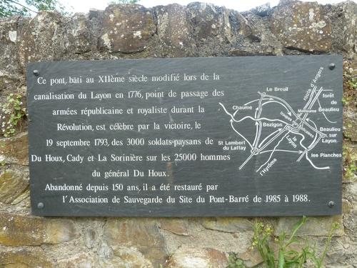 Le Pont-Barré....