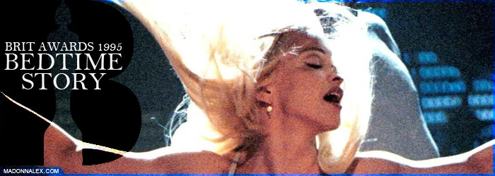 Madonna - Bedtime Story Brit Awards 1995