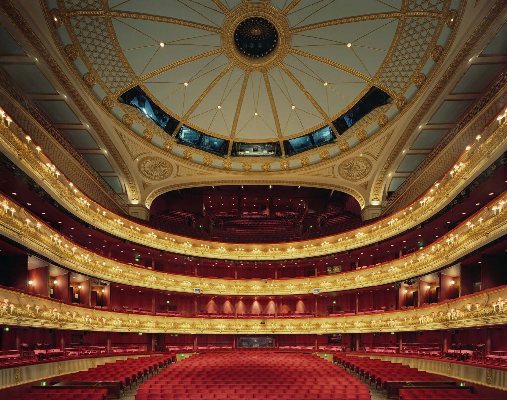 La salle du royal opera House de Londres