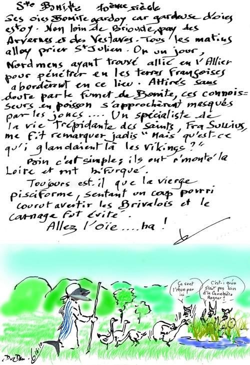 Ste Bonite/Ste du jour/Auvergne/