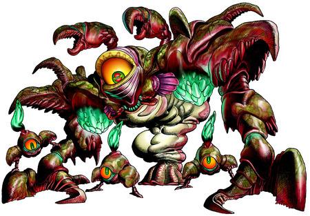 Queen Gohma, Parasitic Armored Arachnid - <i>Ocarina of Time 3D</i>