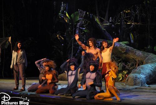 Disneyland Park (Paris) - Tarzan La Rencontre