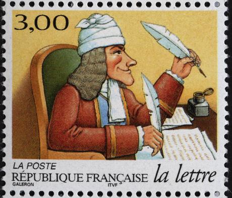 Timbre La lettre au fil du temps : philosophe (3154) - La Poste