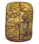 Uruk III 3100 avant JC