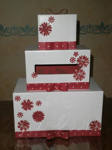 Wedding Cake en Carton