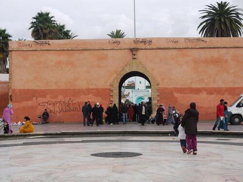 L'entrée du souk...